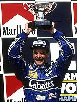World Champion Nigel Mansell
